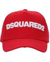 DSquared² - Хлопковая Кепка Из Габардина - Lyst