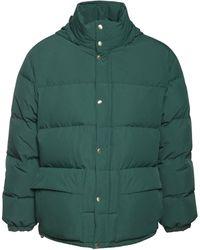 Jil Sander Plus Recycled Down Jacket - Green