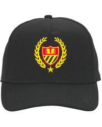 BEL-AIR ATHLETICS Cotton Academy Crest Dad Baseball Hat - Black