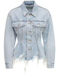 Alexander Wang Куртка Из Денима - Синий