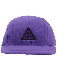 """Nike Casquette En Tissu Technique """"Acg"""" - Violet"""
