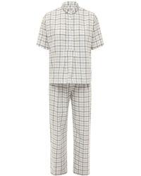 The Sleep Shirt Пижама Из Хлопковой Фланели - Многоцветный