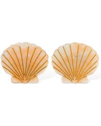 Valet Studio Set Of 2 Ursula Shell Hair Clips - Mehrfarbig