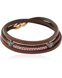 Tomasz Donocik Black Rhodium Stars Bracelet