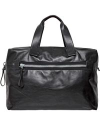 Lanvin - Big Nappa Leather Bowling Bag - Lyst