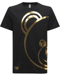 Moschino Bear コットンtシャツ - ブラック
