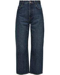 Balenciaga - Jeans Aus Baumwolldenim - Lyst