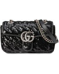 "Gucci - Мини-сумка ""gg Marmont 2.0"" - Lyst"
