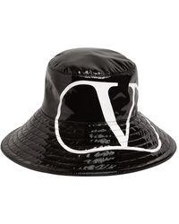 Valentino Garavani Valentino Garavani ウォータープルーフバケットハット - ブラック