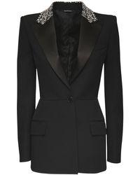 Givenchy グランドプードルジャケット - ブラック