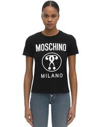 Moschino Milano Slim Fit T-shirt - Black
