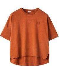 Loewe - オーバーサイズコットンジャージーtシャツ - Lyst