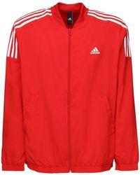 adidas Originals Nylon Track Suit - Red