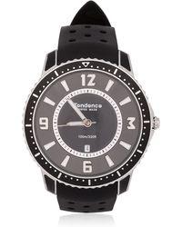 Tendence - Slim Sport All Black Watch - Lyst