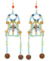 Anita Quansah London - Sia Earrings - Lyst