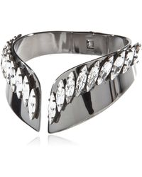 Ellen Conde - Bracelet With Swarovski Crystals - Lyst