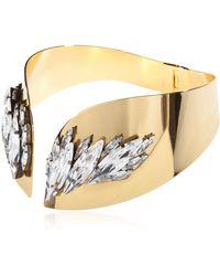 Ellen Conde Necklace With Swarovski Crystals - Metallic