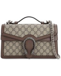 Gucci Dionysus Gg Supreme Top Handle Bag - Brown