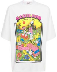 Gcds Land コットンtシャツ - ホワイト