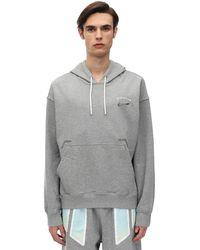 """Nike Hoodie Aus Baumwollfleece """"pigalle Nrg"""" - Grau"""