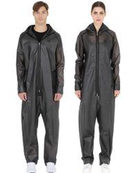 OnePiece Waterproof Rain Jumpsuit - Black
