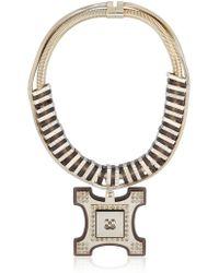 Ledaotto Tour Eiffel Necklace - Metallic