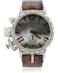U-Boat - Limit.ed Pepita 925 Blackened Watch - Lyst
