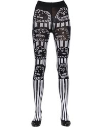Claire Barrow - Cloud Printed Lycra Stockings - Lyst