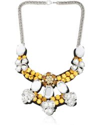 Ortys - Crystals Necklace - Lyst