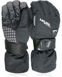 Level Half Pipe Gore-tex Snowboard Gloves - Black