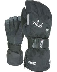 Level Halfpipe Gore-tex Snowboard Gloves - Black