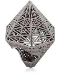 Vojd Studios - Hexagonal Ring - Lyst