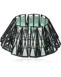 Vojd Studios 3d Printed Cage Cuff - Black