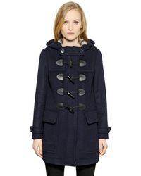 Burberry Brit | Finnsdale Double Wool Duffle Coat | Lyst