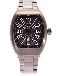 Franck Muller - Vanguard Titanium Watch - Lyst
