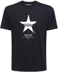 Neil Barrett - Sport Star コットンジャージーtシャツ - Lyst