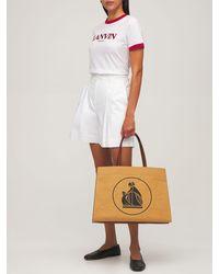 Lanvin Cabas Kraft トートバッグ - マルチカラー