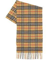 Burberry Vintage Check Cashmere Scarf - Multicolour