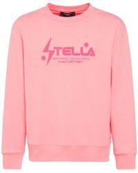 Stella McCartney Tom Graphic コットンスウェットシャツ - ピンク