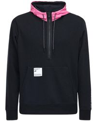 Nike Kapuzensweatshirt Aus Technostoff - Schwarz