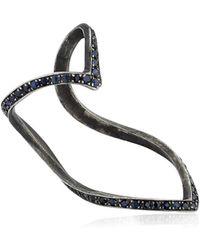 SeeMe - Sapphires Wrap Heart Ring - Lyst