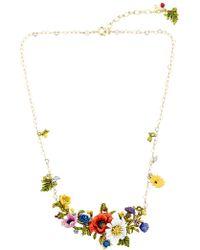 Les Nereides | Floraisons Sauvages Necklace | Lyst