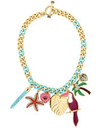 Juicy Couture - Ipanema Toucan Necklace - Lyst