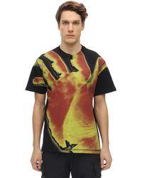 United Standard Hand コットンジャージーtシャツ - ブラック