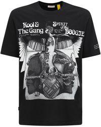 """Moncler Genius - T-Shirt En Jersey De Coton Imprimé """"Fragment"""" - Lyst"""