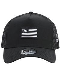 KTZ Us Trucker Cap - Black