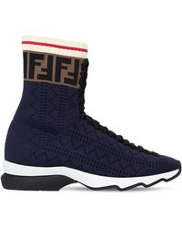 Fendi - Zapatillas altas Rockoko - Lyst