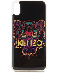 KENZO - Printed Pvc Iphone Xs Max Cover - Lyst