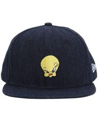 KTZ 9fifty Tweety Cotton Baseball Hat - Blue