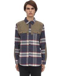 Marmot Needle Peak Cotton Blend Shirt - Blue